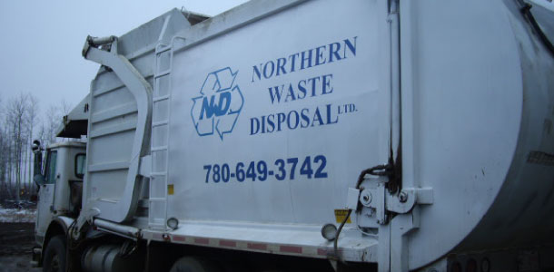 Northern Waste Disposal Ltd truck